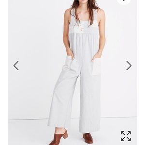NEW, SOLD OUT Madewell patchwork jumpsuit